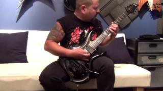 HELSTAR Larry Barragan  - Black Cathedral  (Guitar Playthrough)