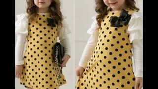 Kids Cotton Dress Designs| Kids Frocks 2017
