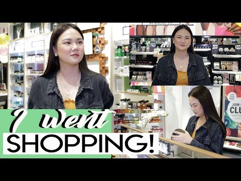 I WENT SHOPPING WITH THE BODY SHOP!! | ASHLEY SANDRINE
