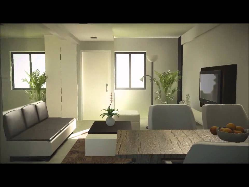 Lumentrt 3 room hdb flat youtube for 3 room bto design ideas