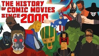 The History of Superhero Comic Movies Part 2 - Movies Since 2000 HD