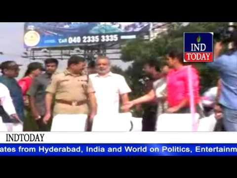 Rally Against 'child Sex Abuse' In Hyderabad Flagged Off By Sania Mirza, Anurag Sharma video