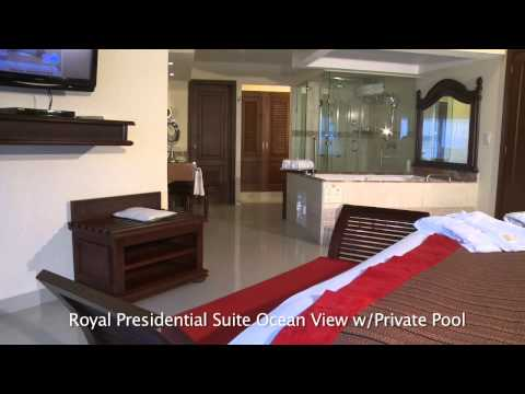 THE ROYAL in Playa del Carmen Resort - Royal Presidential Suite Ocean View Private Pool Preview