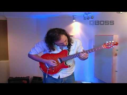 Guitar Performance By Alex Using The Boss GT-10 Multi Effects Unit