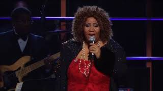 """Aretha Franklin Performs """"Baby I Love You"""" at the 25th Anniversary Concert"""