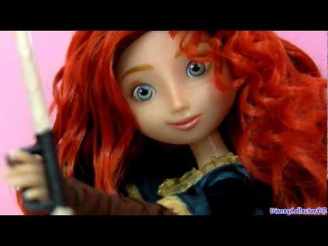 Brave Princess Merida doll with Toddler plush and toys Disney Store Target Храбрая