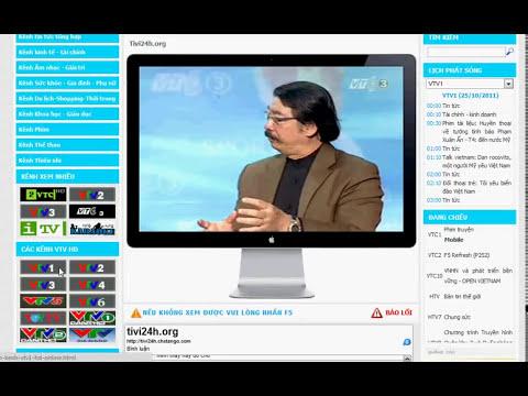 Tivi24h.org - Video hướng dẫn cài đặt Sopcast