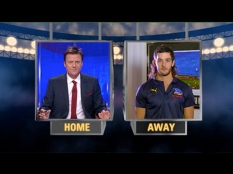 Tex on The Footy Show