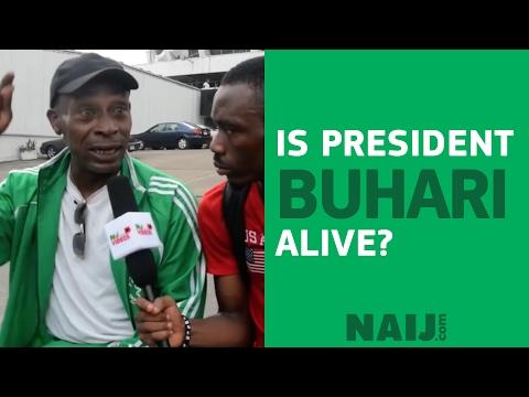 Is Nigerian President Buhari alive?