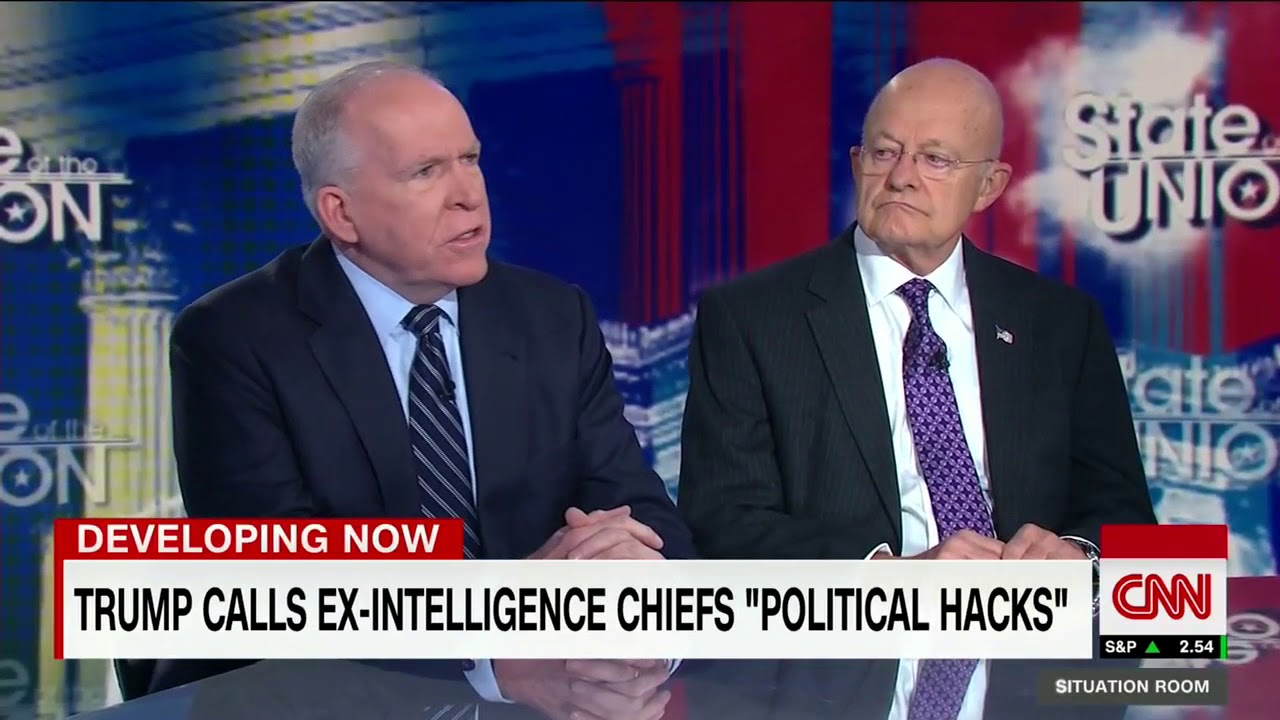 Former intel Chiefs: Putin is playing Trump