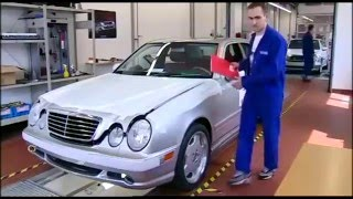 How to make Mercedes E 55 AMG W210. Plant AMG.