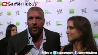 Triple H & Stephanie McMahon Share The Secret To Their Marriage - Gamerhubtv