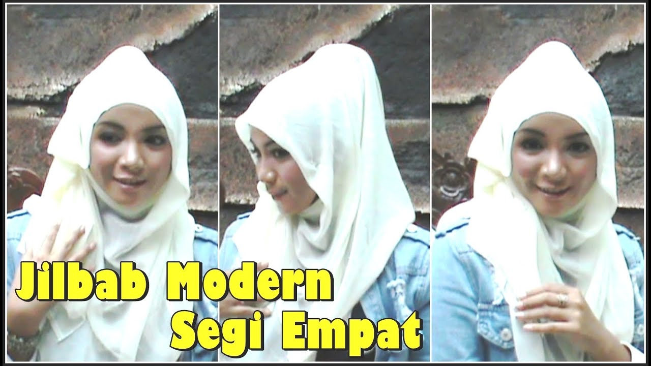 Model Jilbab Modern Segi Empat Jilbab Modern Segi Empat