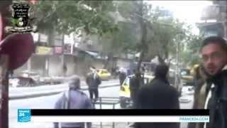 سوريا - مقاتلو تنظيم الدولة الاسلامية ينسحبون من بعض المواقع في مخيم اليرموك