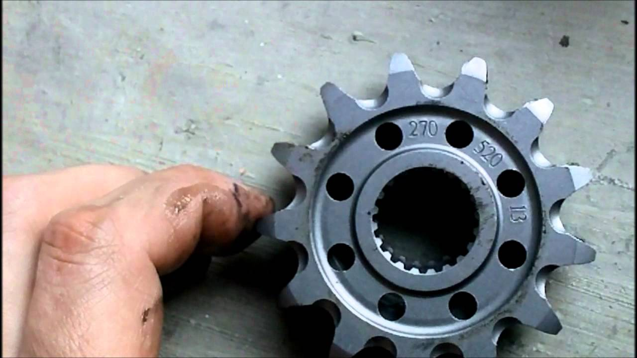 Yamaha Raptor  Front Sprocket