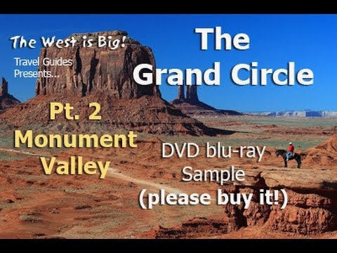 Grand Circle Tour Travel Guide Pt. 1: Monument Valley tour -free DVD preview