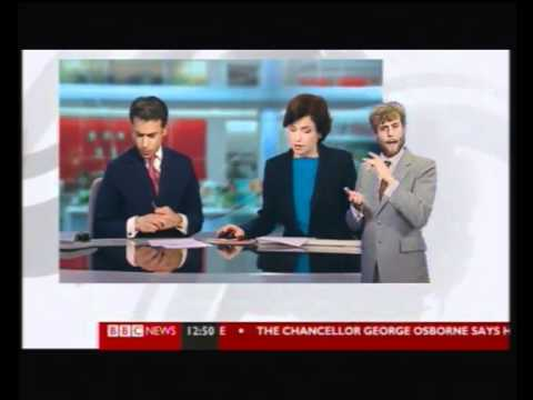 12.09.2011 Marcoule on BBC News