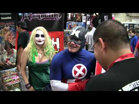Xxx Captain America At San Diego Con 2011 video