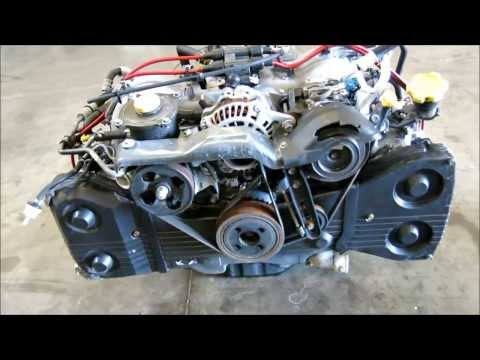 JDMAllianceUSA.com - JDM Subaru Legacy EJ25 2.5L DOHC Engine Video - EJ25-988928