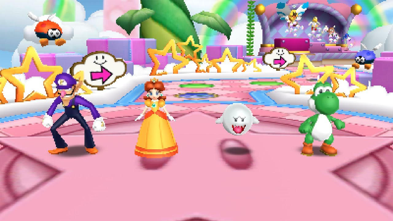 Mario Party Island Tour Star Crossed Skyway