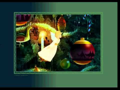 The Christmas Tree - animated Flash ecard by Jacquie Lawson.avi