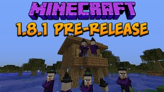 Minecraft 1.8.1 Pre Release