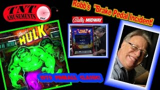 #1268 Gottlieb INCREDIBLE HULK Pinball Machine-MS PACMAN-SPACE INVADERS Video Games-TNT Amusements