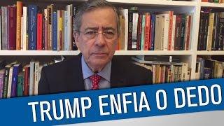 Trump, a desgraça, faz o que a Dilma não faz