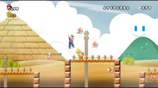 New Super Mario All Stars HD: Super Mario Bros Lost Levels REMAKE 100% Mundo 5 y 6