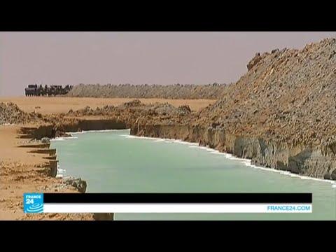 بناء جدار عازل بين تونس وليبيا