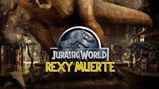 ¿Como Muere el T REX en Jurassic World Fallen Kingdom?