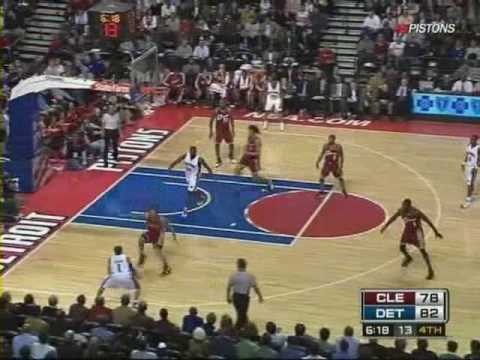 Allen Iverson 23pts vs LeBron James Cavs 08/09 NBA Video