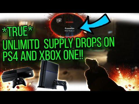 WW2 Nazi Zombies: TRUE Unlimited Supply Drop Glitch For Xbox One/PS4!?