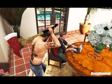 GTA 5 BRUTAL COMPILATION (Grand Theft Auto V Prison Break/FUNNY/FAIL/THUG LIFE)