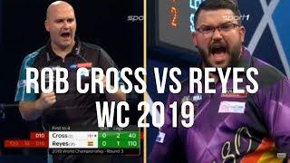 Rob Cross vs Cristo Reyes WORLD CHAMPIONSHIP 2019 R3 (Darts WM 2019)