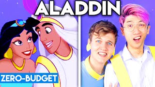 ALADDIN WITH ZERO BUDGET! (A Whole New World PARODY)