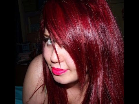 ♥ Dyed black/dark brown hair to Red Hair ♥