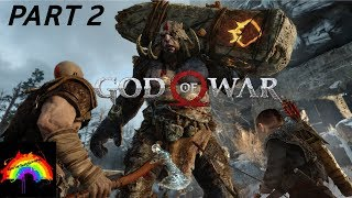 GOD OF WAR Walkthrough Gameplay Part 2 - PS4 PRO