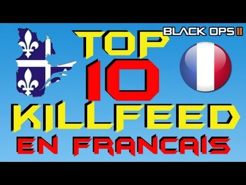 Top 10 Killfeed en Français # Black ops 2