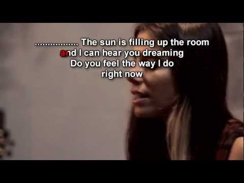 Christina Perri - Distance Lyrics video
