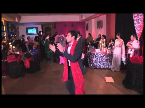 funny indian wedding dance act