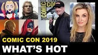 Comic Con 2019 - Marvel Panel, The Witcher, Harley Quinn Animated, Star Trek Picard, Batwoman