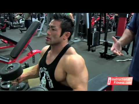 Instructional Fitness - Dumbbell Bench Press