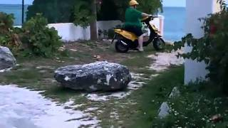 Fat Kid Fails on a scooter
