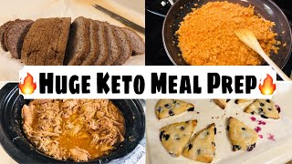 Huge Weekly Keto Meal Prep/Batch Cooking| 4/2/20