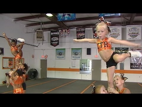 Child Cheerleaders Compete in High-Stakes High-Pressure Competitions...