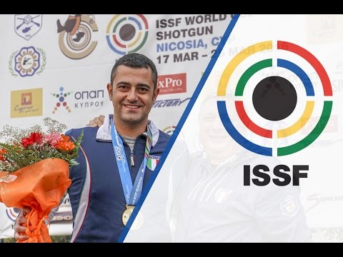 Interview with Alessandro CHIANESE (ITA) - 2016 ISSF Shotgun World Cup in Nicosia (CYP)