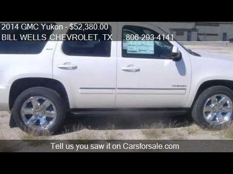 2014 GMC Yukon SLT - for sale in Plainview, TX 79072