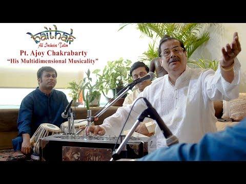 30th Baithak | Pt. Ajoy Chakrabarty | English Subtitles thumbnail