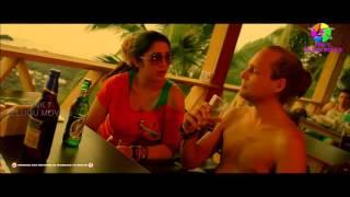 Charmi dance and drink in Goa
